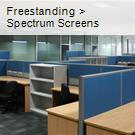 Freestanding  >  Spectrum Screens